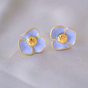 Tory Burch Fleur Stud Earrings